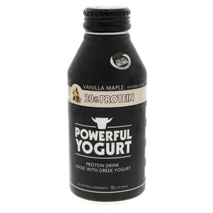 Powerful Yogurt Protein Drink Vanilla Maple 355ml