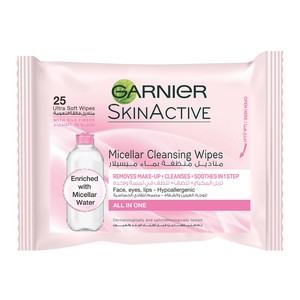 Garnier Micellar Cleansing Ultra Wipes 25pcs