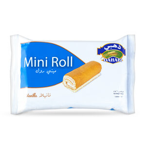 Dahabi Mini Roll Vanilla 60g