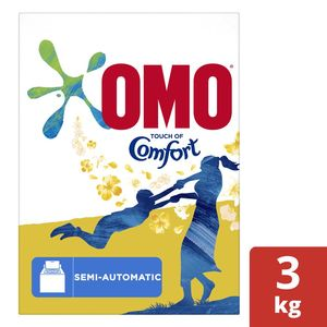 OMO Top Load Laundry Detergent Powder with Comfort 3kg