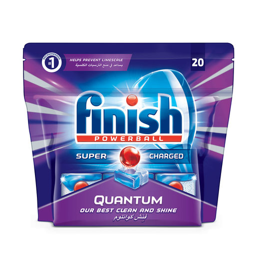 Finish Dishwasher Detergent Quantum Tabs 20Tabs 310g