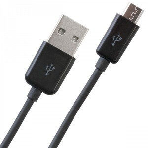 Iends Micro USB Fast Charging Cable 2 Meter Black CA1218