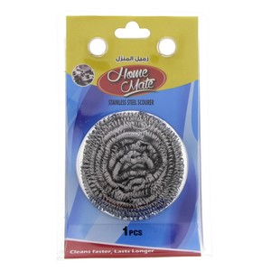 Home Mate Stainless Steel Scourer 1pc