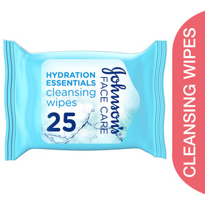 Johnson's Cleansing Wipes Hydration Essentials 25pcs