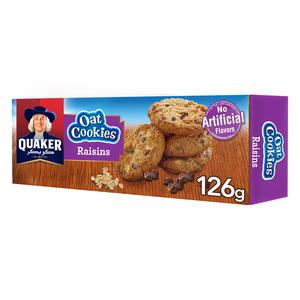 Quaker Oat Cookies with Raisins 126g