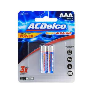 AC Delco Super Alkaline Battery AAA 1.5V 2pcs