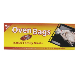 Home Mate Oven Bags Large Size 406mm x 444mm 5pcs