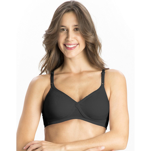 Jockey Women's Seamless Cross Over Bra 1721 Black 32B