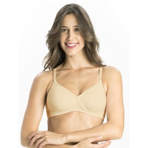 Jockey Women's Seamless Cross Over Bra 1721 Skin 36C