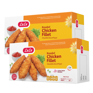 Lulu Breaded Chicken Fillet 2 x 400g