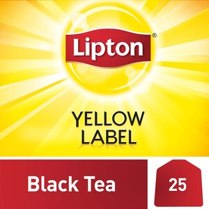 Lipton Yellow Label Black Tea 25 Teabags