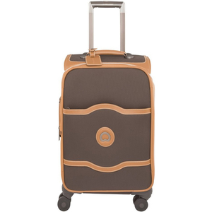Delsey Chatelet 4Wheel Soft Trolley 81006 55cm Chocolate