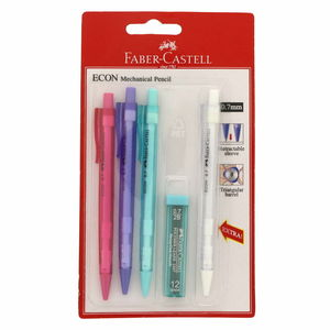 Faber-Castell Mechanical Pencil 4's + Lead FCC1343