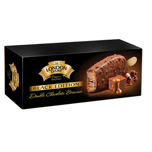 London Dairy Black Edition Double Chocolate Brownie 100ml