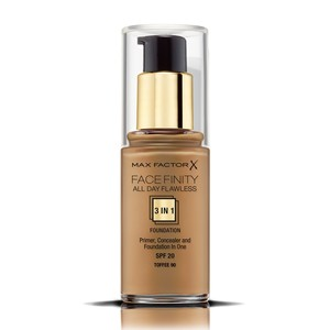 Max Factor Facefinity All Day Flawless Liquid Foundation 3in1 90 Toffee 30ml