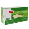 Lulu Latex Disposable Gloves Powder Free Small 100pcs