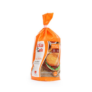 Sadia Breaded Chicken Burger 840g 15pcs