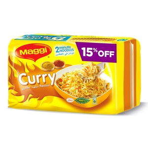 Maggi 2 Minute Curry Noodles 79g x 10pcs