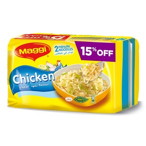 Maggi 2 Minute Chicken Noodles  77g x 10pcs