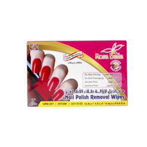 Rosa Bella Nail Polish Removal Wipes 12pcs