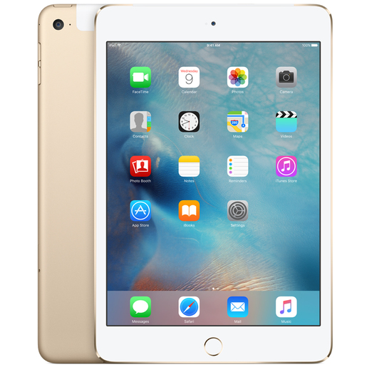 Apple iPad Mini4 4G 7.9inch 128GB Gold