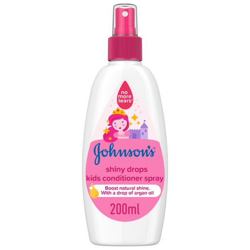 Johnson's Conditioner Shiny Drops Kids Conditioner Spray 200ml