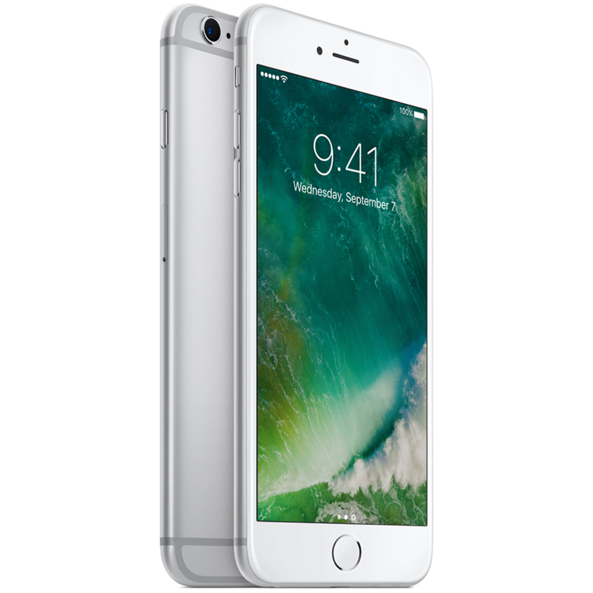 Buy Apple Iphone 6s Plus 64gb Silver Online Lulu Hypermarket Ksa