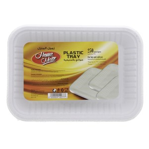 Home Mate Plastic Tray 7.5x5inch 250g Approx