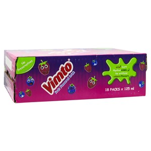 Vimto Fruit Flavoured Drink 18 x 125ml