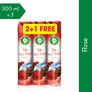 Airwick Air Freshener Rose 300ml 2+1