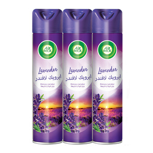 Airwick Air Freshener Lavender 300ml 2+1