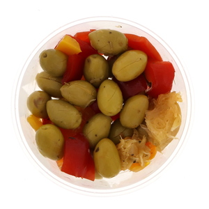 Moroccan Green Olive Andalouse 300g