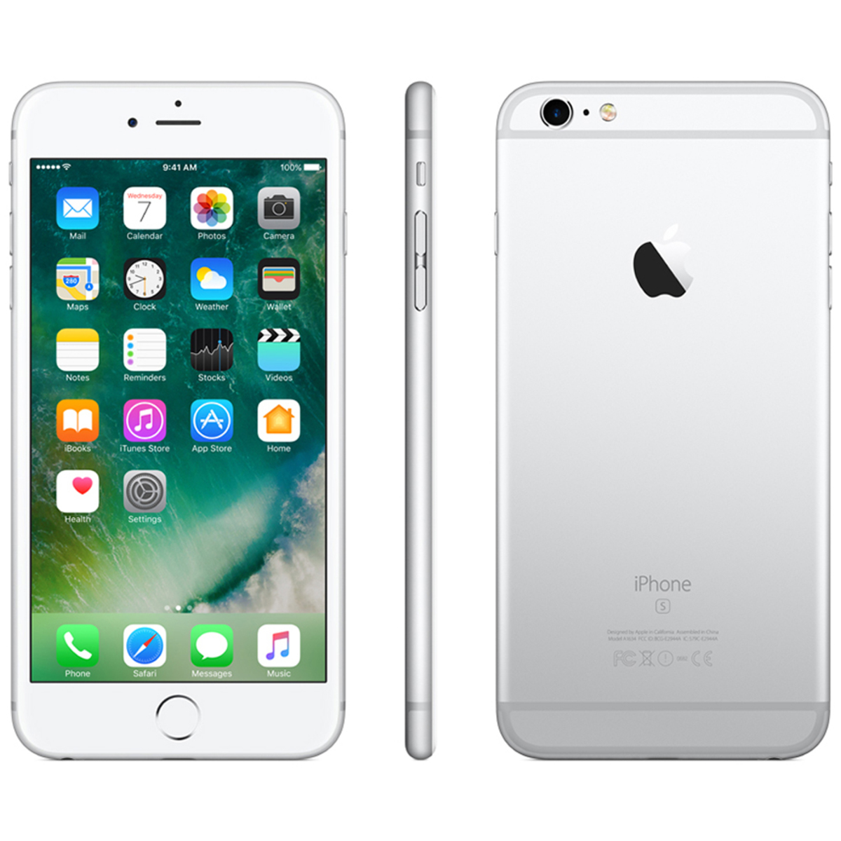 Buy Apple Iphone 6s Plus 128gb Silver Online Lulu Hypermarket Qatar
