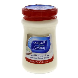 Al Marai Spreadable Cheddar Cheese Reduced Fat 200g