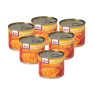 Libby's Baked Beans in Tomato Sauce 6 x 220g
