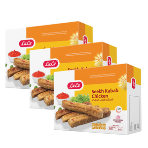 Lulu Chicken Seekh Kebab 3 x 320g