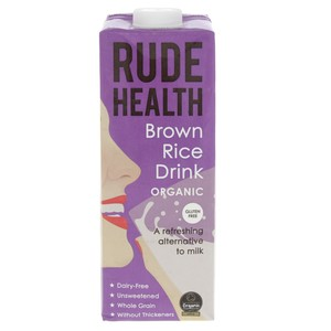 Rude Health Organic Brown Rice Drink 1Litre