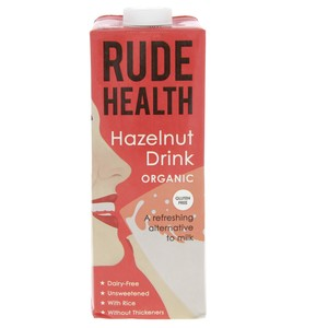 Rude Health Organic Hazelnut Drink 1Litre