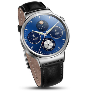 Huawei Smart Watch with Black Leather Strap