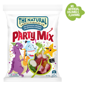The Natural Confectionary Co. Party Mix Jelly Candy 240g