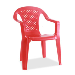 Progarden Children's Plastic Chair SEDIA BABY Assorted Color Size: 38x38x52 cm