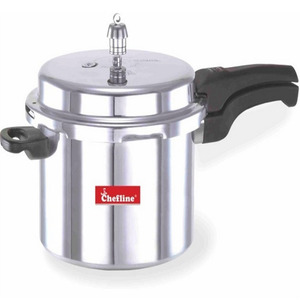 Chefline Aluminium Induction Pressure Cooker 3Ltr