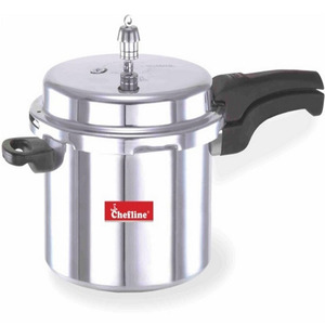 Chefline Aluminium Induction Pressure Cooker 10Ltr
