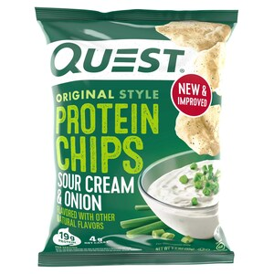 Quest Protein Chips Original Style Sour Cream & Onion 32g