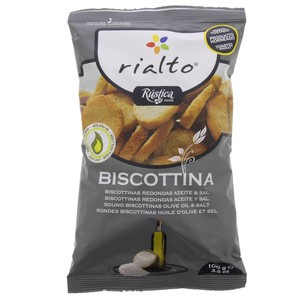 Rialto Biscottina with Olive Oil and Salt 100g