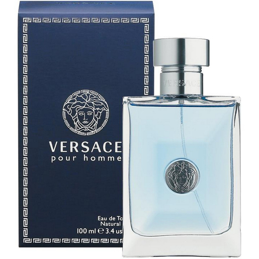 Versace Pour Homme Eau De Toilette Natural Spray For Men 100ml