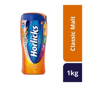 Horlicks Classic Malt Nourishing Powder Drink 1kg