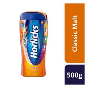 Horlicks Classic Malt Nourishing Powder Drink 500g