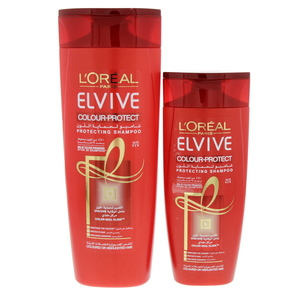 L'oreal Elvive Colour Protecting Shampoo 400ml + 200ml