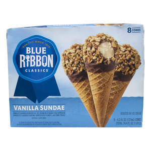 Blue Ribbon Vanilla Sundae Corn 8pcs